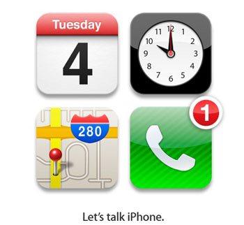 iPhone 5 : la keynote aura bien lieu le 4 octobre !