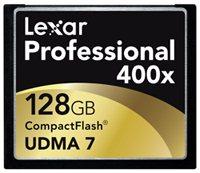 Lexar prépare une Compact Flash 400x de 256 Go