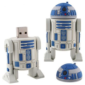 Insolite : la clé usb R2D2 pour les fans de Star Wars