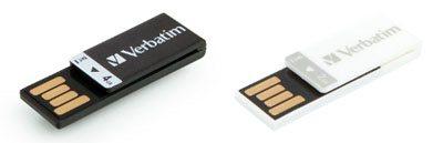 Offrez une clé usb Verbatim Clip-It à vos employés ou à tous vos amis