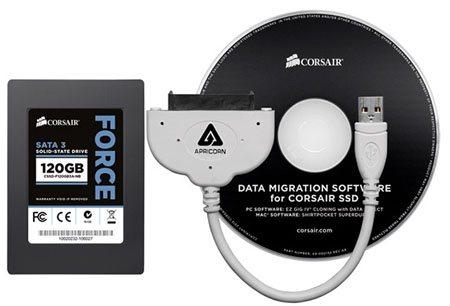 Corsair souhaite simplifier la migration vers un SSD avec son kit de mise à niveau
