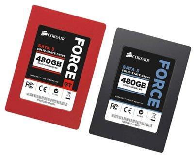 Corsair met aussi à jour ses SSD SandForce SF-2281
