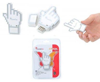Original : un lecteur de cartes mémoires en forme de curseur