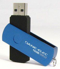 Une nouvelle clé USB 3.0 assez décevante chez Dane Elec [MAJ]