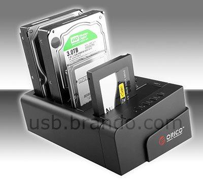 Un dock pour 4 HDD très pratique pour les backups