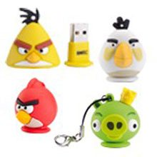 Des clés usb Angry Birds pour les fans de zozios en colère