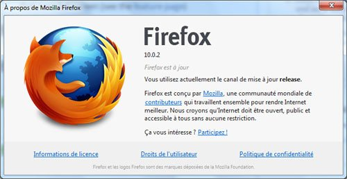 FireFox 10.0.2 disponible !