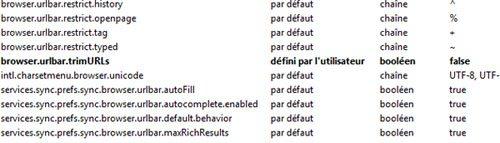 Comment afficher le http dans la barre d'adresse de FireFox 7 ?