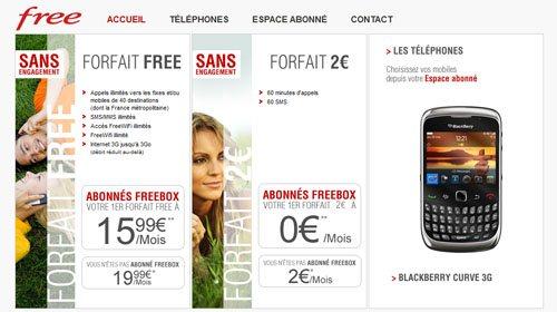 Le site de Free Mobile est enfin accessible à tous…
