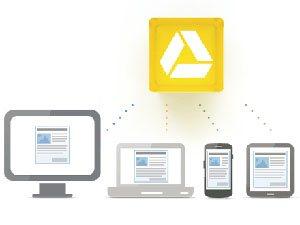 Google offre 5 Go de stockage en ligne avec Google Drive