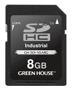 Green House : des cartes SDHC qui résistent à de fortes températures