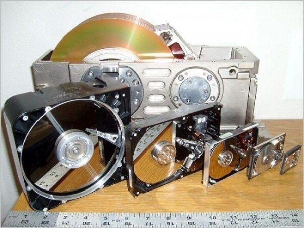 L'évolution des disques durs de 1979 à nos jours …