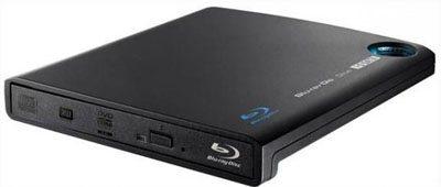 Un graveur Blu-ray portable compatible BDXL