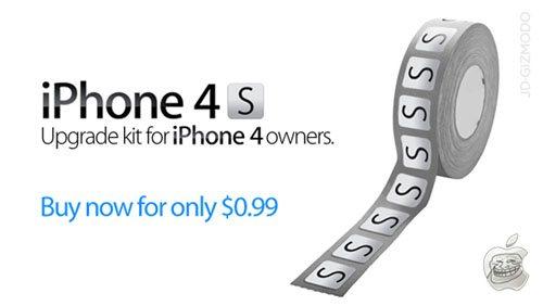 Insolite : Comment transformer un iPhone 4 en iPhone 4S ?