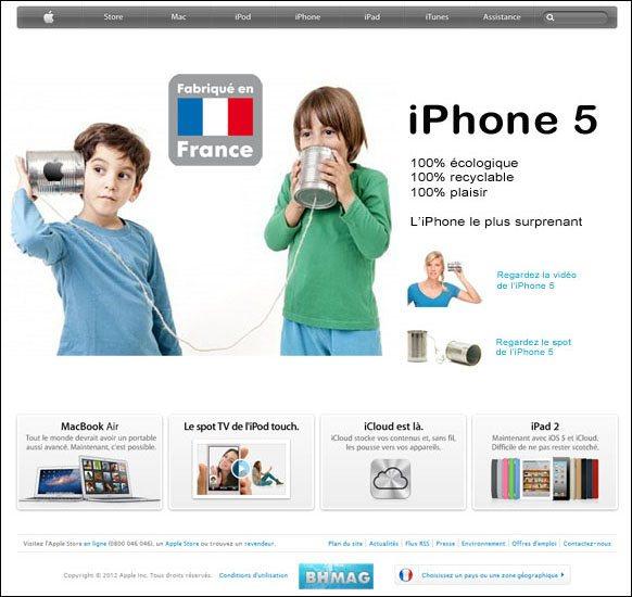Exclu : l'iPhone 5 en photos et en détails sur BHmag !