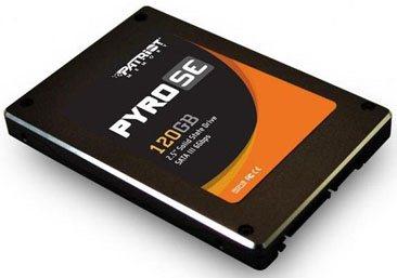 Patriot Pyro SE : un nouveau SSD SandForce SF-2281