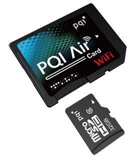 PQI Air Card : une carte SD qui se connecte en WIFI