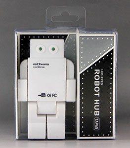 Un hub usb robot avec 4 ports usb