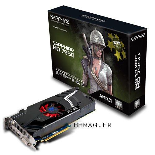 La Radeon HD 7950 sortira la semaine prochaine