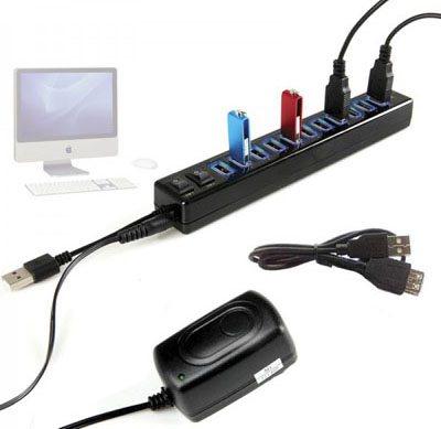 Pratique, une multiprise USB pour connecter tous vos appareils…