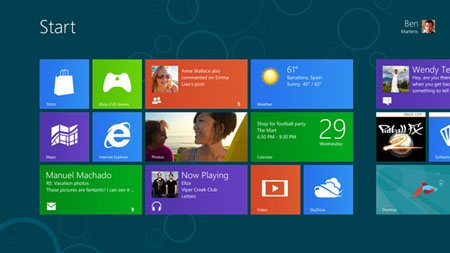 Consumer Preview de Windows 8