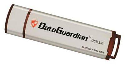 DataGuardian : une clé USB 3.0 sécurisée signée SuperTalent