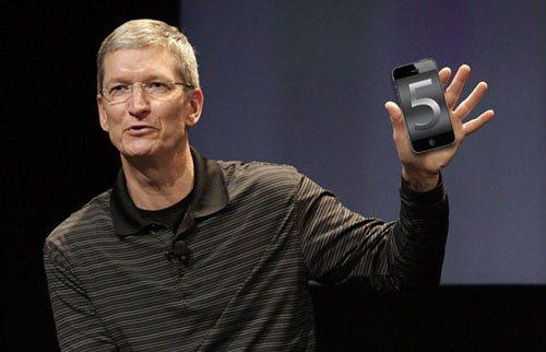 Tim Cook dévoilera l'iPhone 5 dans 12 jours