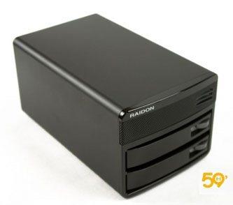 59Hardware teste le NAS Raidon SL-3650-LB2