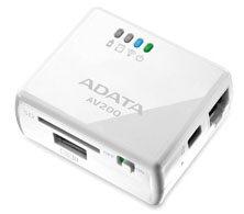 AData AV200 : les cartes SD et clés usb deviennent sans fil…