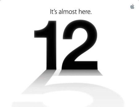 C'est officiel : l'iPhone 5 sera dévoilé le 12 septembre
