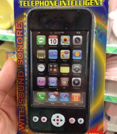 Insolite : des (faux) iPhones jailbreakés pour les enfants