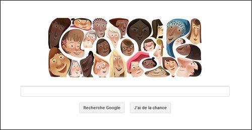 Google célèbre la journée de la femme…