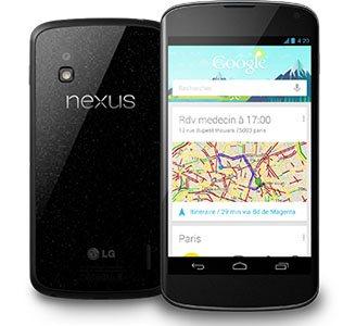 Le Nexus 4 de Google est à nouveau disponible en France (MAJ3)