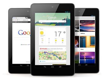 Google fait le plein de nouveautés : Nexus 10, Nexus 4, Nexus 7 32 Go et 3G