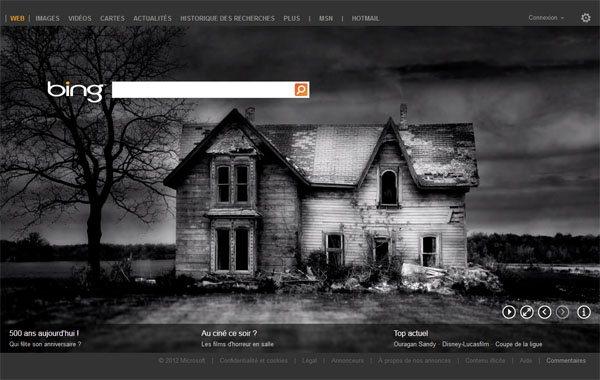 Google et Bing s'habillent aux couleurs d'Halloween