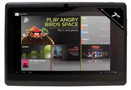 Bons Plans : 50€ la tablette tactile sous Android 4.0 Ice Cream Sandwich