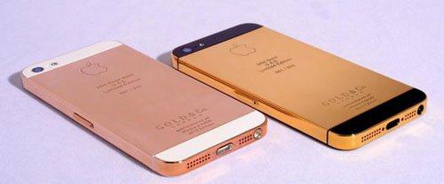 3.645 € l'iPhone 5 en or 24-carats !