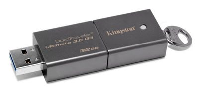 Kingston sort une nouvelle clé USB 3.0 : la Data Traveler Ultimate G3