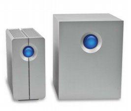 LaCie équipe sa gamme Quadra d'une connectiqe USB 3.0