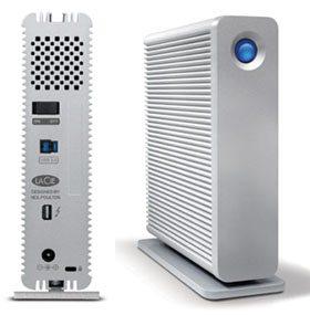 Le LaCie d2 se dote d'une connectique USB 3.0 et Thunderbolt