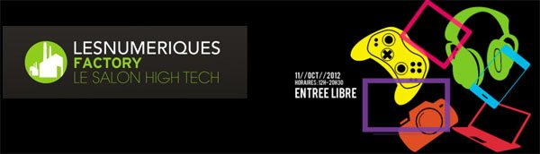 LesNumeriques organise demain un salon High Tech : la Factory