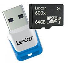 Des cartes mémoires microSDXC 600X chez Lexar