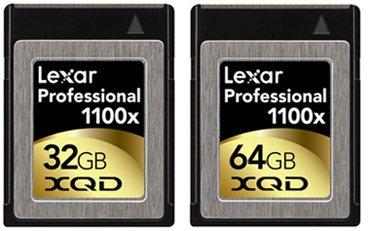 Lexar dévoile ses premières cartes XQD et un lecteur USB 3.0