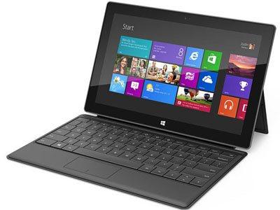 Les tablettes Surface sous Windows RT sont dispo en précommande