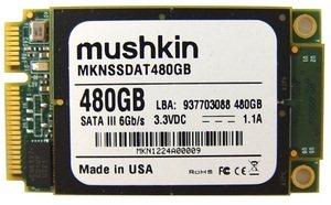 Un SSD mSATA d'une capacité de 480 Go chez Mushkin