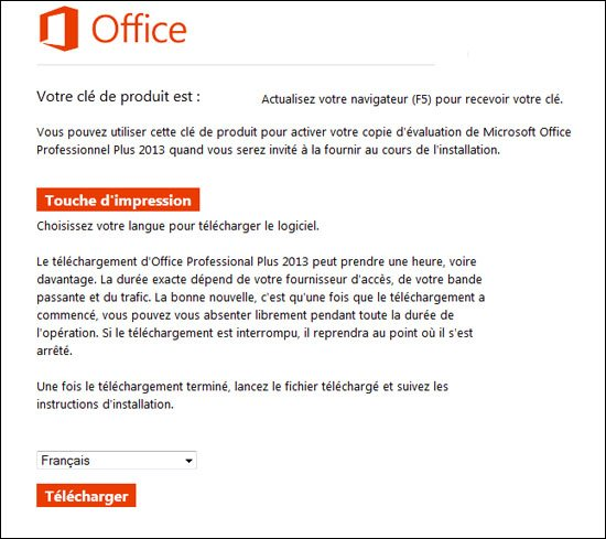 Microsoft Office 2013 est disponible en version d'évaluation