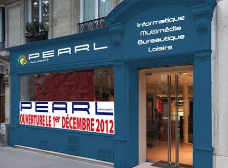 Le groupe Pearl ouvre une boutique à Paris