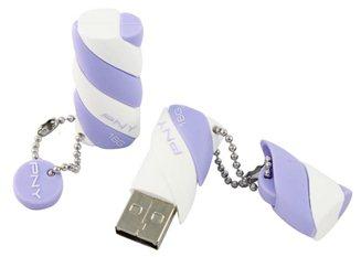 PNY Candy : des clés USB 3.0 en forme de guimauve