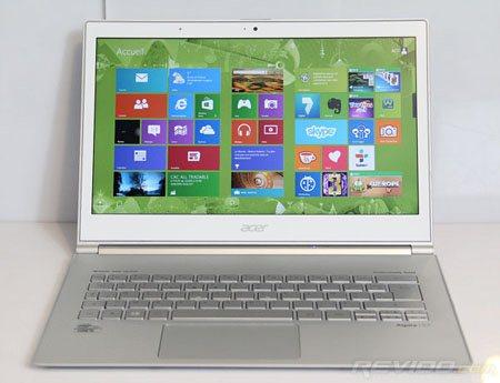 Revioo publie un test de l'ultrabook Acer Aspire S7