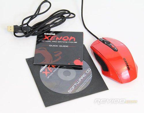 Revioo jette un coup d'oeil à la souris Ozone Xenon pour gamers